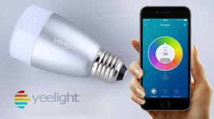 Led Blue Light Bulb by Yeelight Blue Ii Light Bulb Smart Led Mood Lighting Youtube