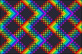 Rag Rug Friendship Bracelet Normal Friendship Bracelet Pattern 7838 Braceletbook Com