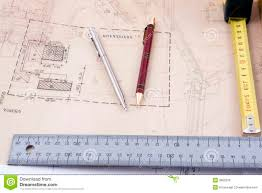 architectural design tools royalty free stock images image 3882339