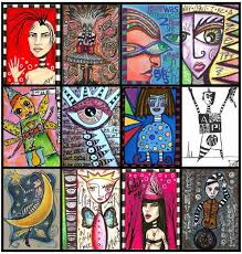 artist trading cards olyphant