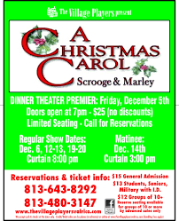 a christmas carol scrooge u0026 marley tickets in valrico fl united