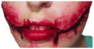 Halloween Makeup With Liquid Latex by Joker Smile Liquid Latex U0026 Blood Set Hollywood Special Effects