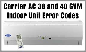carrier furnace blinking yellow light carrier air conditioner ac error codes troubleshooting