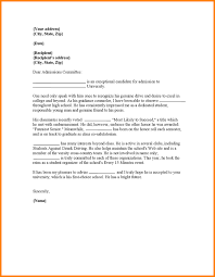 best ideas of letter of recommendation sample for college