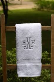 wedding gift towels custom embroidered wedding gift towel set any name any color