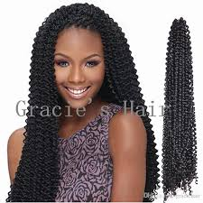 crochet black weave hair 2018 freetress braids kinky curly hair extensios 18inch freetress
