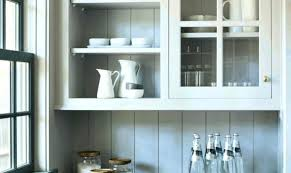 floating kitchen cabinets ikea kitchen open cabinet open shelving brackets how to build floating
