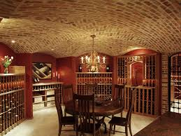 Cellar Ideas Wine Cellar Ideas Contemporary With Stone Black Racks