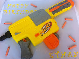 nerf battle racer this is a nerf gun cake i made for a 7 year old boy who was having