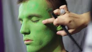Mens Halloween Makeup Ideas Makeup Tutorial Inspired By The Incredible Hulk Costume Makeup
