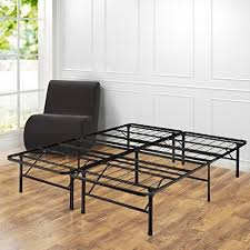 Platform Metal Bed Frame Mattress Foundation Metal Bed Frame Platform Mattress Foundation Black Size