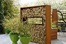 Gartengestaltung Mit Steinen Und Grsern Modern Sichtschutz Windschutz Holz Im Garten Designs In Holz Farbig