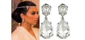 drop bridal earrings wedding jewelry kenneth wedding earrings