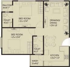 2bhk Plan by 900 Sq Ft 2 Bhk Floor Plan Image Vastu Developers Siddhivinayak