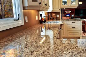 granite countertop ikea dark kitchen cabinets metal mosaic tile