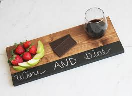 chalkboard cheese plate serving tray cheese board rustic farm house wood
