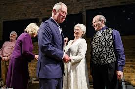 where does prince charles live prince charles delivers hamlet line to be or not to be on bard s
