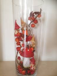 home made fall decorations herfst decoratie grote vaas autumn decoration grand vase