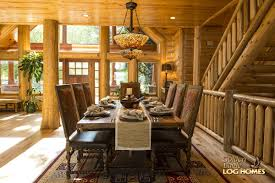 Interior Pictures Of Log Homes 100 Log Dining Room Table Table Bright Pine Log Dining Room