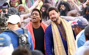 swapnil joshi u0026 ganesh acharya on location of marathi film bhikari