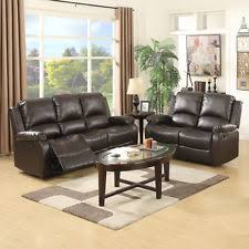 Two Seater Sofa With Chaise Leather Sofa Set Ebay