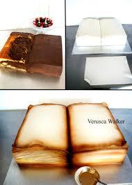 Halloween Cake Tutorial Book Cake Tutorial Livros Pinterest Book Cakes Cake