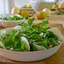 asian pear and arugula salad with goat cheese recipe randy