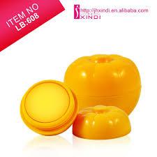 pumpkin cartoon pic pumpkin shape lip balm fruit cartoon mineral ingredient nourishing