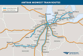 Map Of Illinois With Cities Welcome To Amtrak Hiawatha Milwaukee Chicago Midwest