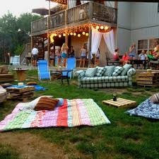 backyard birthday party ideas charming backyard birthday party ideas sweet 16 4 outdoor movie