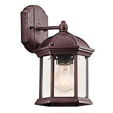 kichler outdoor wall lighting exterior lighting fixtures timeless designs