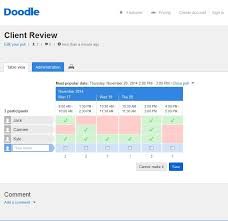 doodle pool doodle hassle free scheduling e learning