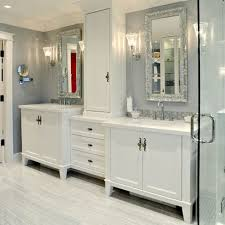 Double Vanity With Tower 27 Best Master Bath Vanity Tower Images On Pinterest Bathroom