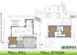 plan maison 4 chambres etage plan maison a etage 3 chambres fiche garrigue 120plan lzzy co