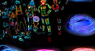 Cheap Christmas Decorations Ebay by Neon Light Glow Party Dance Outdoor Christmas Decorations Ebay