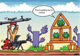 Angry Birds Meme - very funny angry birds is out of control