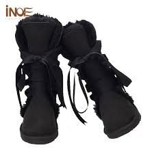 womens boots in size 13 wholesale sheepskin lined boots lace up knee high s