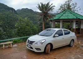 nissan almera km per litre driving to doi angkhang from chiang mai and the easiest roads to