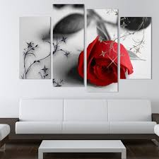 2017 hot sell red flowers wall art canvas painting modern wall 2017 hot sell red flowers wall art canvas painting modern wall pictures for living room new modular picturesno frame from fang1422362313 25 72 dhgate