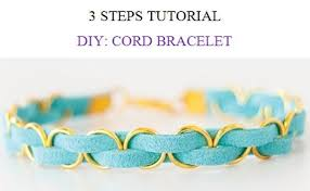 bracelet pattern tutorials images Tutorial cord bracelet leather bracelet patterns how to make etsy jpg