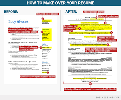 10 crucial changes you need to make to your resume when you u0027re not