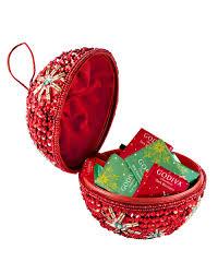 godiva beaded ornament