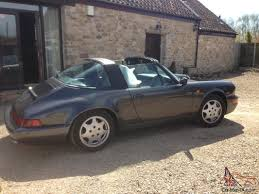 porsche slate grey 1990 porsche 911 964 carrera 2 targa tiptronic