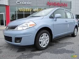 nissan versa blue 2011 nissan versa 1 8 s hatchback in arctic blue metallic 512634