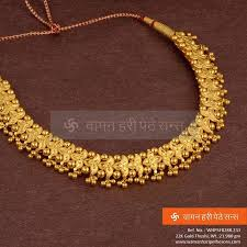 new necklace collection images Traditional yet stylish simple yet attractive gold thushi jpg