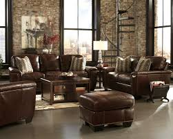 Top Grain Leather Living Room Set by Top Grain Leather Furniture And Classic Mid Century Distressed
