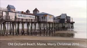 old orchard beach merry christmas maine 2016 youtube