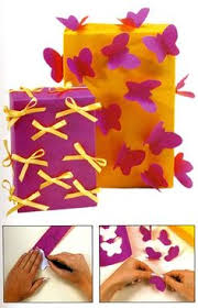 My Little Pony Gift Wrapping Paper - easy rainbow ribbon gift wrap tutorial using inexpensive curling