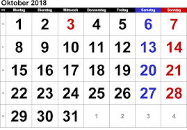 Kalender 2018 Hd Kalender 2016 Pdf Excel Doc Ausdrucken