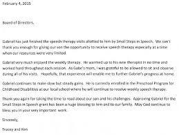 small steps in speech u2013 testimonials